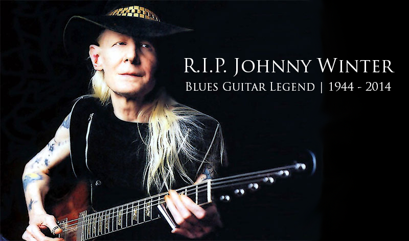 Johnny Winter Dead