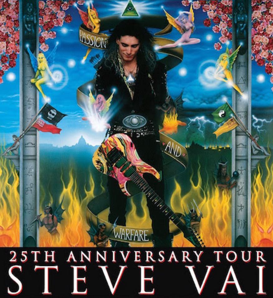 Steve Vai Tour