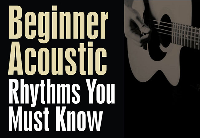 Beginner Acoustic Guitar Lesson Rhythm