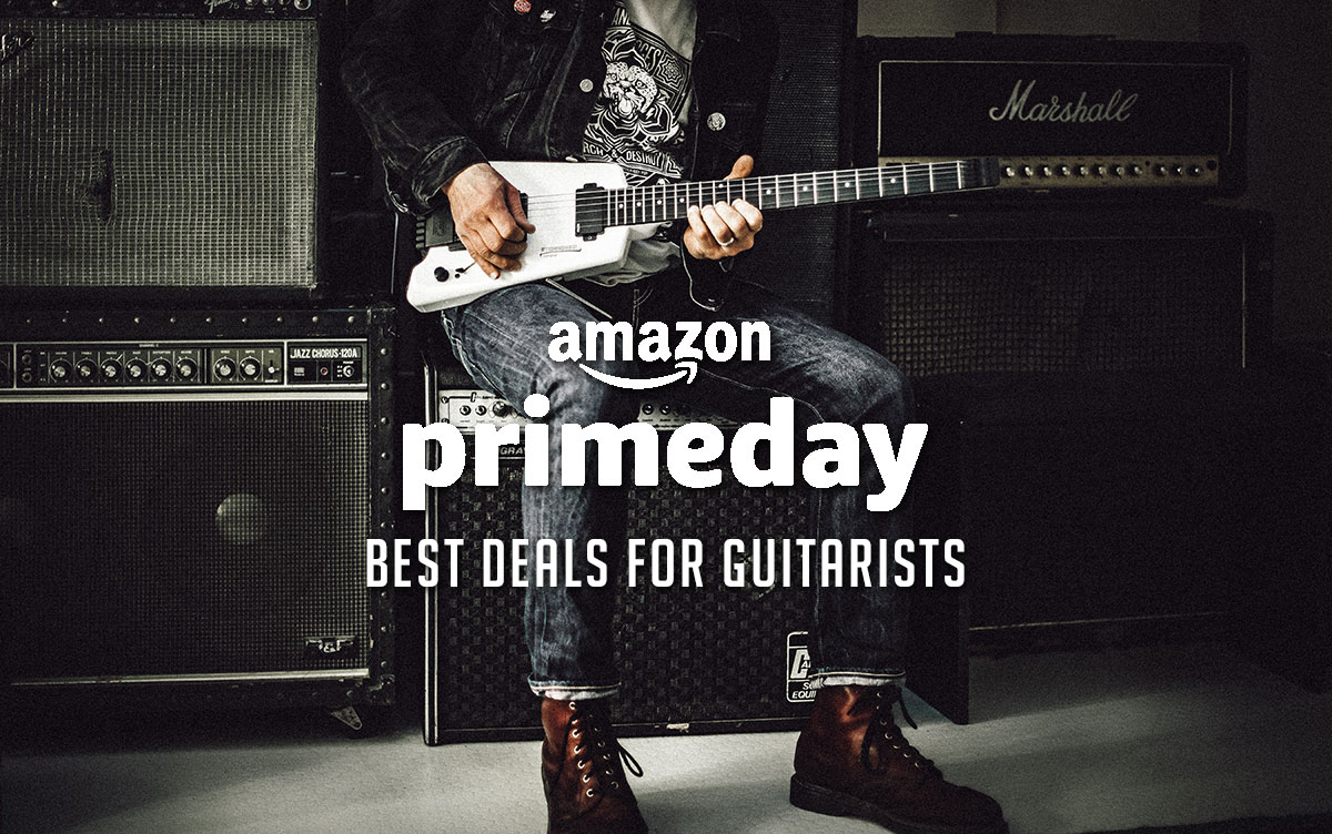 Amazon Prime Day Deals for Guitar Players