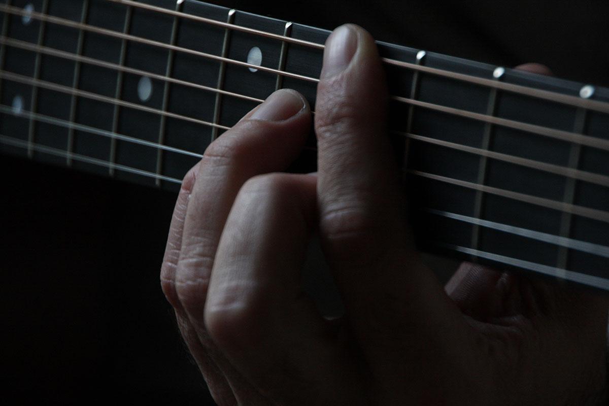 Fingertip Pain Guitar