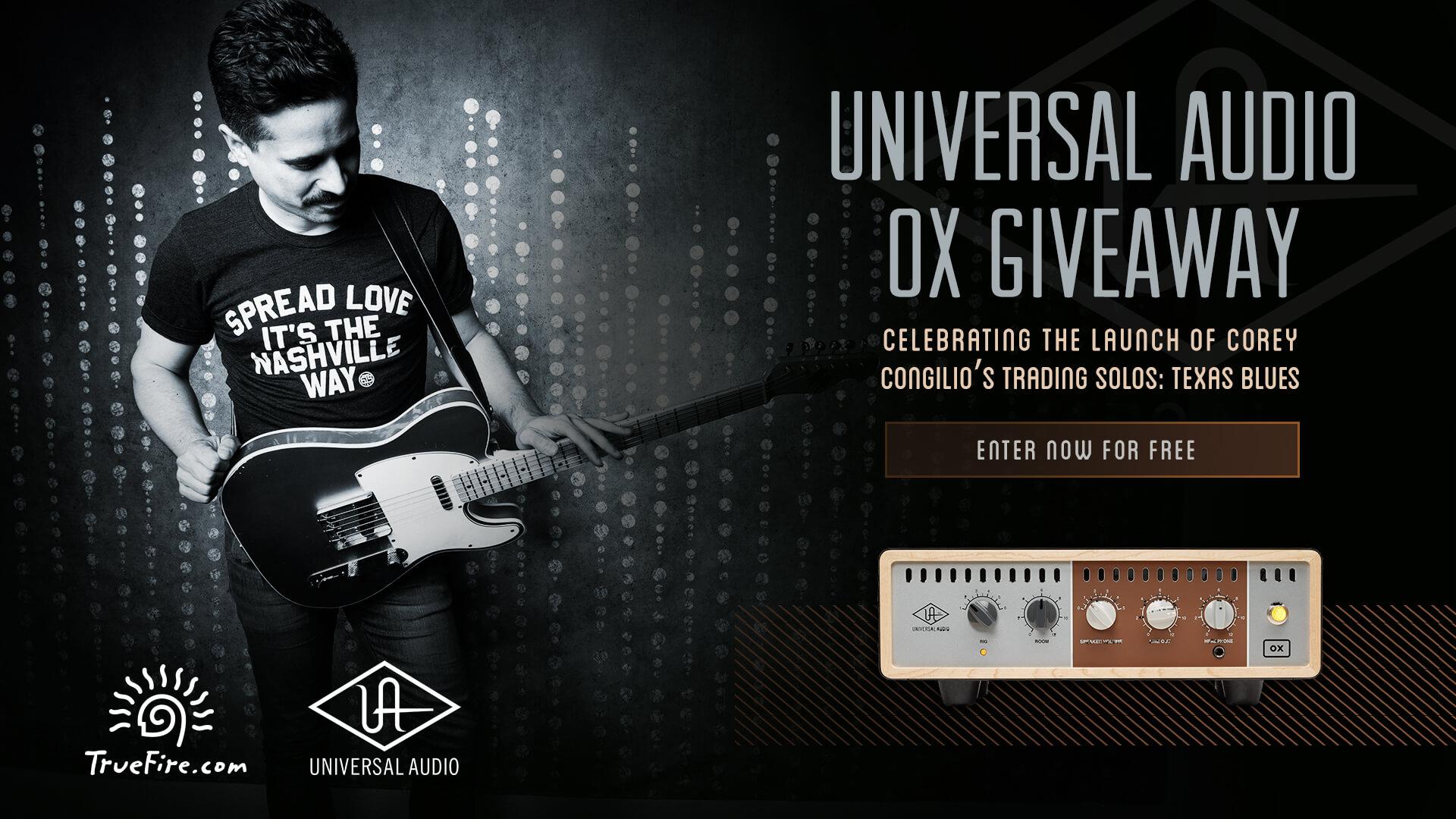 Universal Audio OX Giveaway