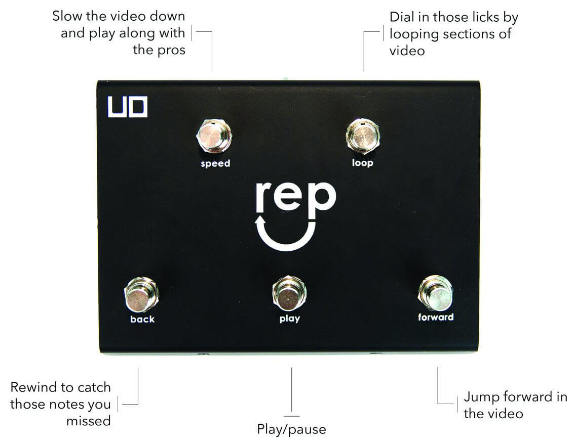UD Rep Pedal