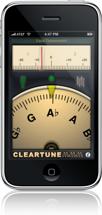 guitar iphone app cleartune