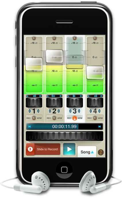 guitar iphone app fourtrack