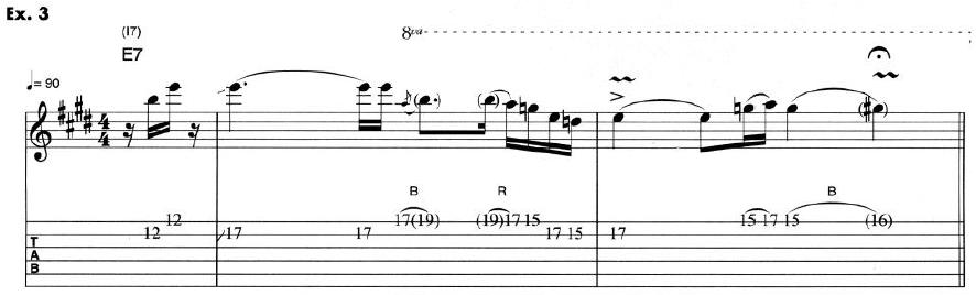 Eric Clapton Guitar Lesson 3