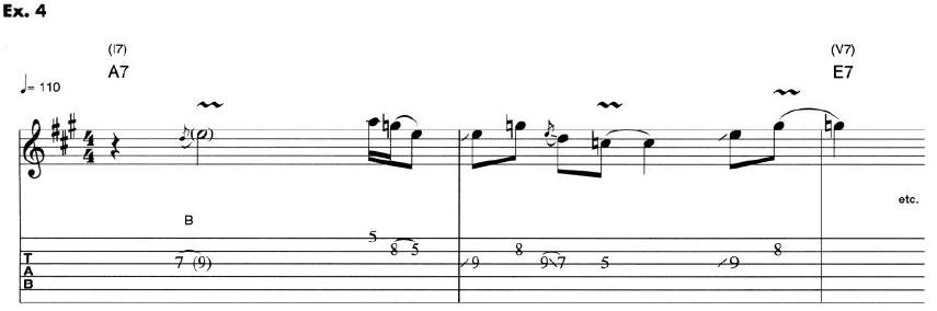 Eric Clapton Guitar Lesson 4