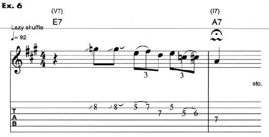 Eric Clapton Guitar Lesson 6