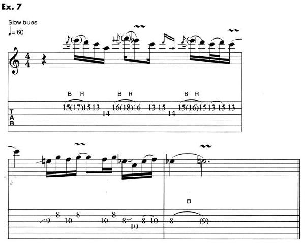 Eric Clapton Guitar Lesson 7