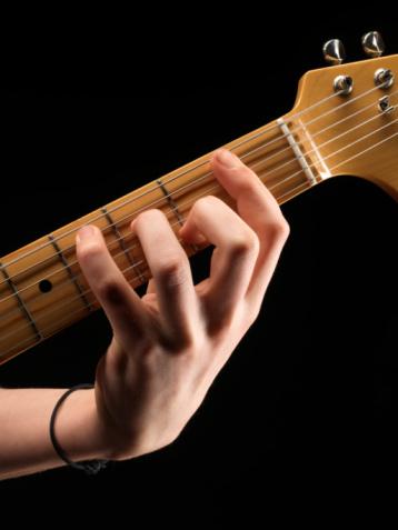 guitar pinky